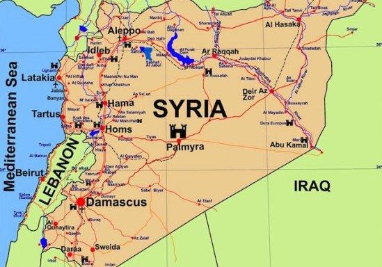 cambia il terreno di battaglia, Siria