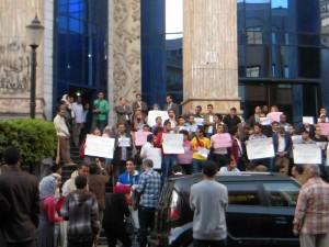 Egitto: manifestazione davanti sede Sindacato Egiziano Giornalisti