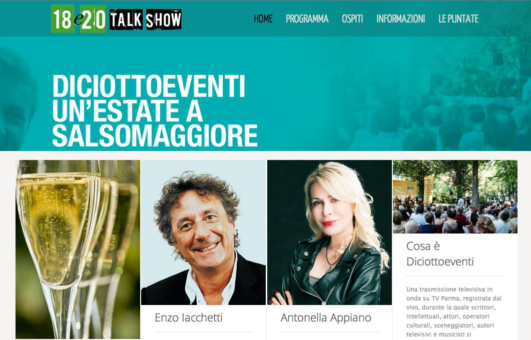 diciottoeventi 18e20 - Antonella Appiano - 13 luglio 2014 - Salsomaggiore