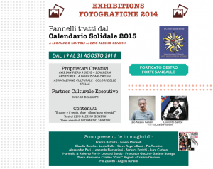 Calendario Solidale 2015 - Nettuno PhotoFestival 2014