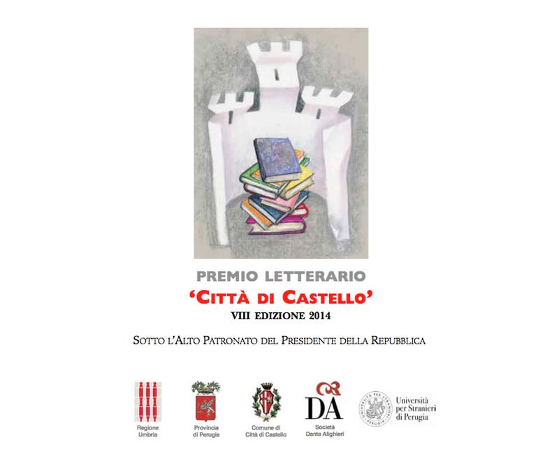 Premio Letterario Città di Castello - 2014