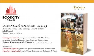 Egitto. Democrazia Militare - BookCity 2014 di  Acconcia, Appiano, Campanini