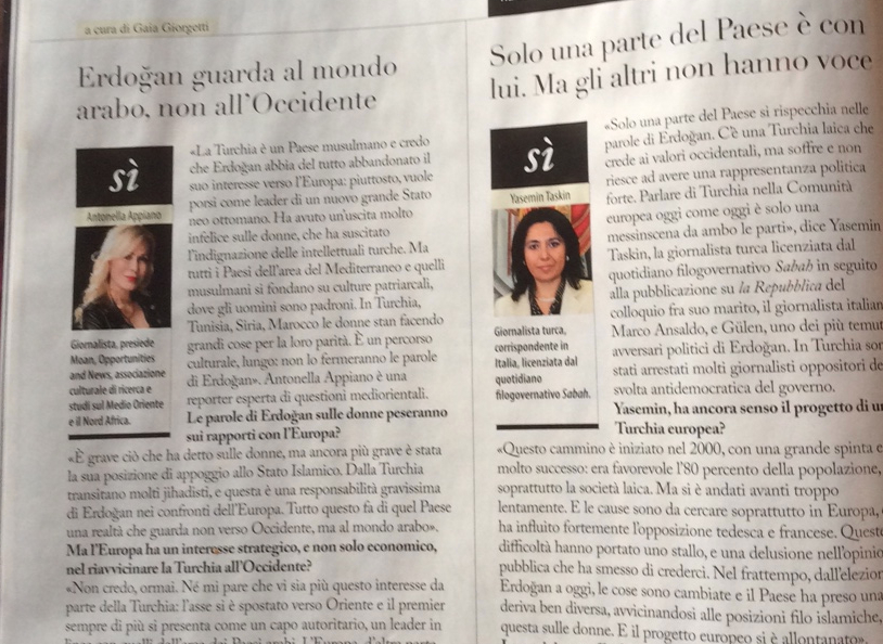 un fatto, due opinioni - con Antonella Appiano - F - 10 dicembre 2014