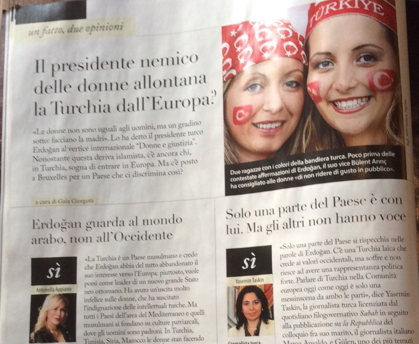 un fatto, due opinioni - intervista a due Antonella Appiano - F - 3 dicembre 2014