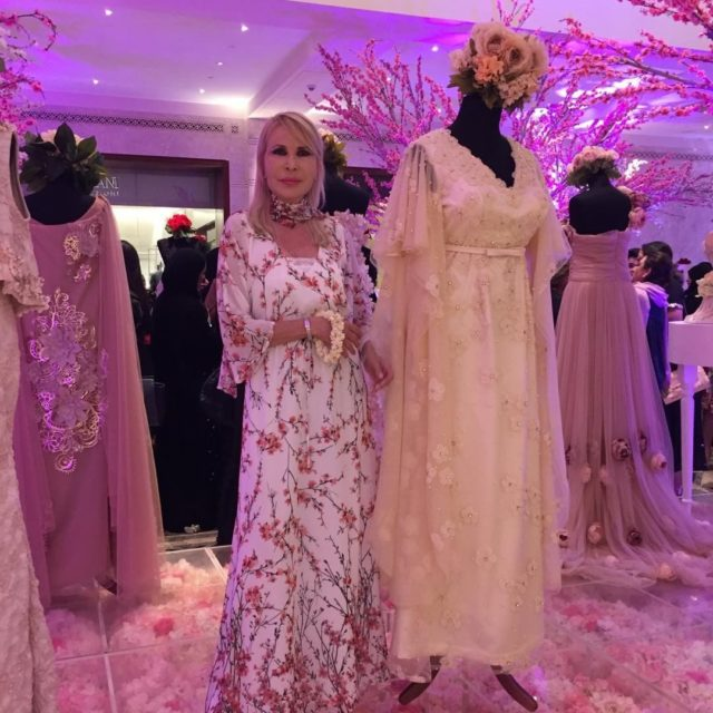 Royal Opera Galleryfashion show Amal al Jamali