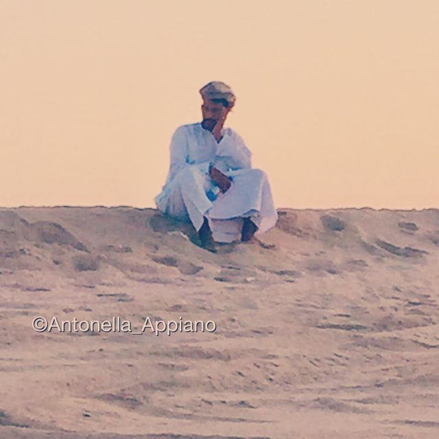 Ob the dunes of Ras al Hadd Sultanate of Oman