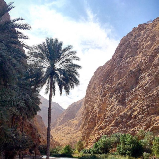 Wadi al Shab Sultanate of Oman
