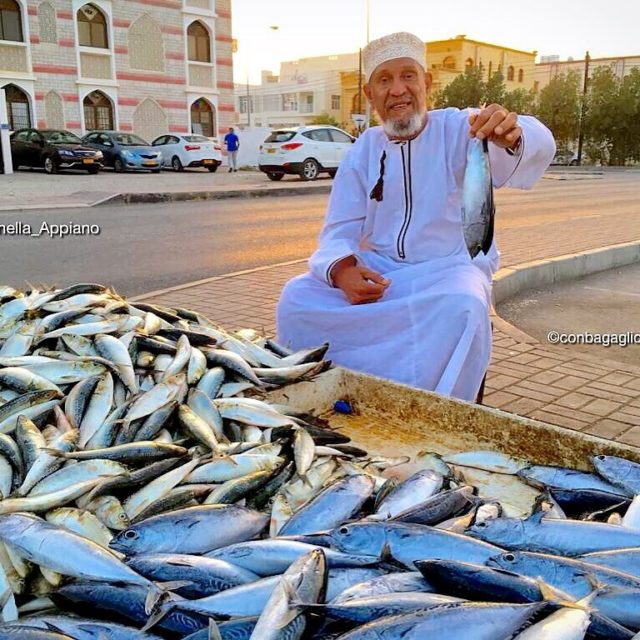FishermanMuscat Atheiba closed to the Mosque of Abu Ubaida antonellaappianohellip