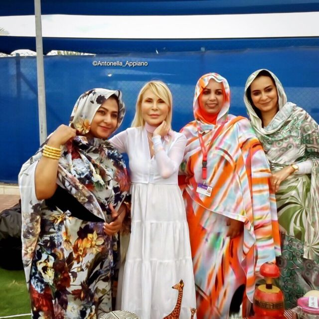 Me with ladies from Sudan at TAISM International Day Muscathellip